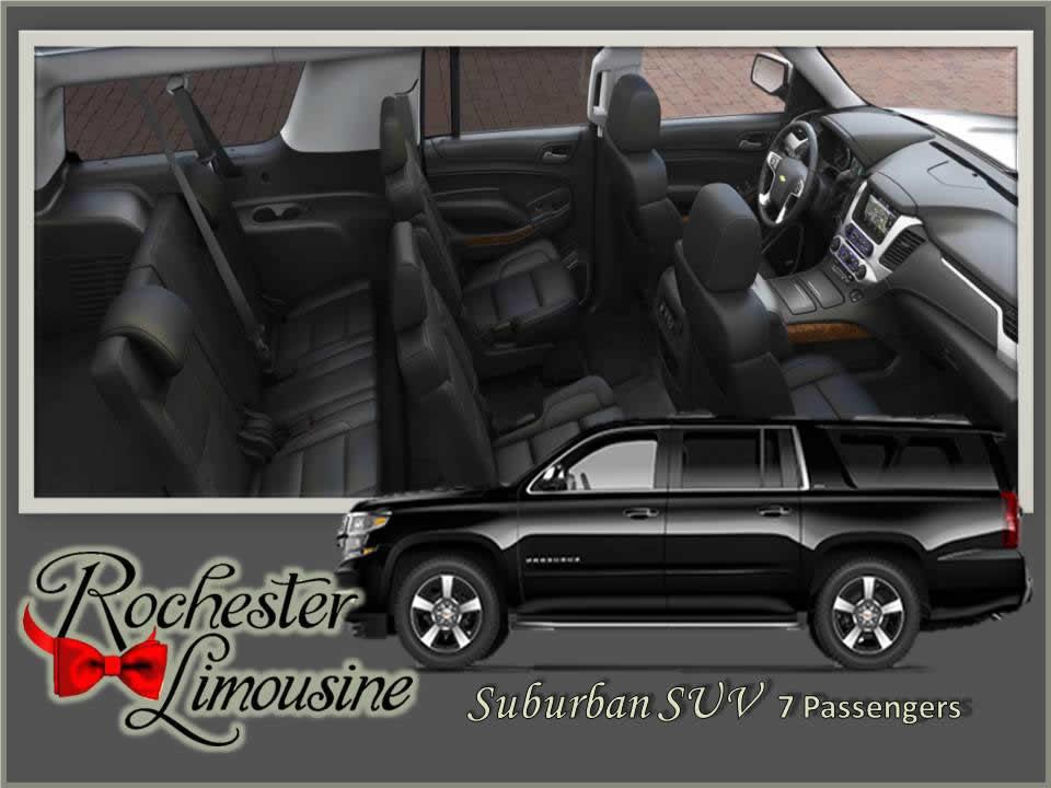 Executive Suburban SUV 7 Passengers
