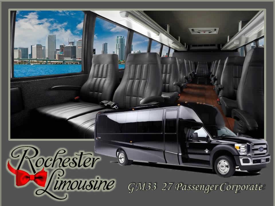 27 Passenger Luxury Bus