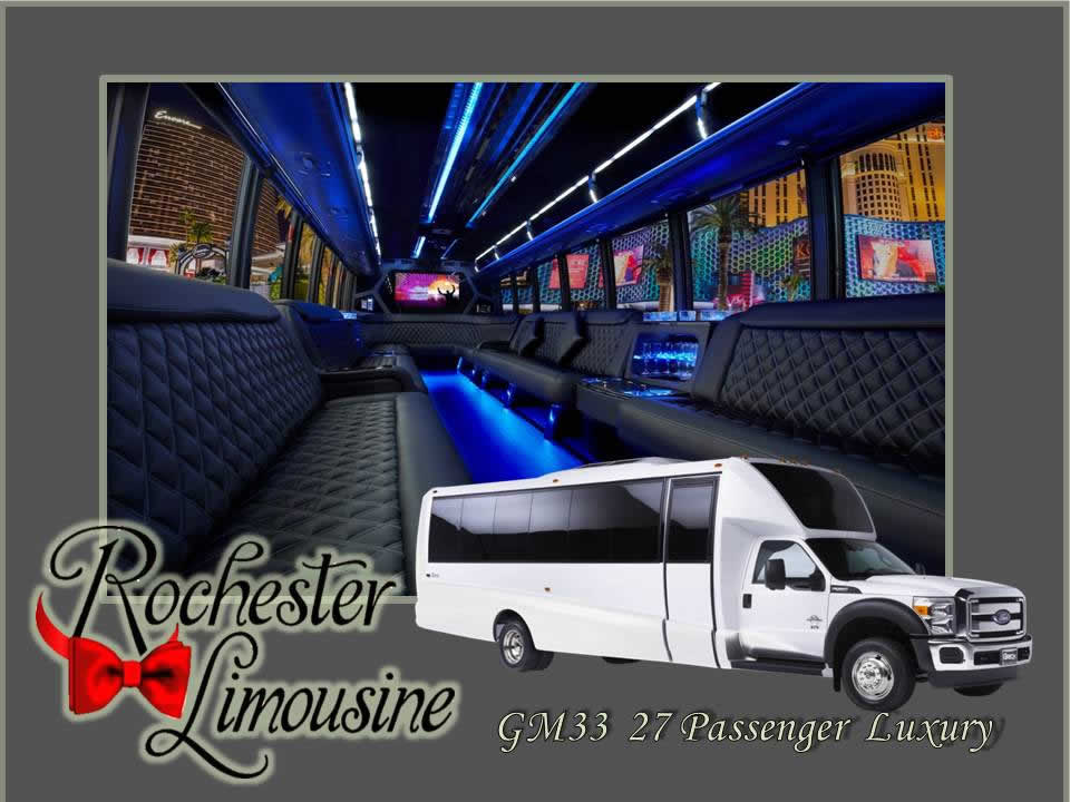 27 Passenger Luxury Bus