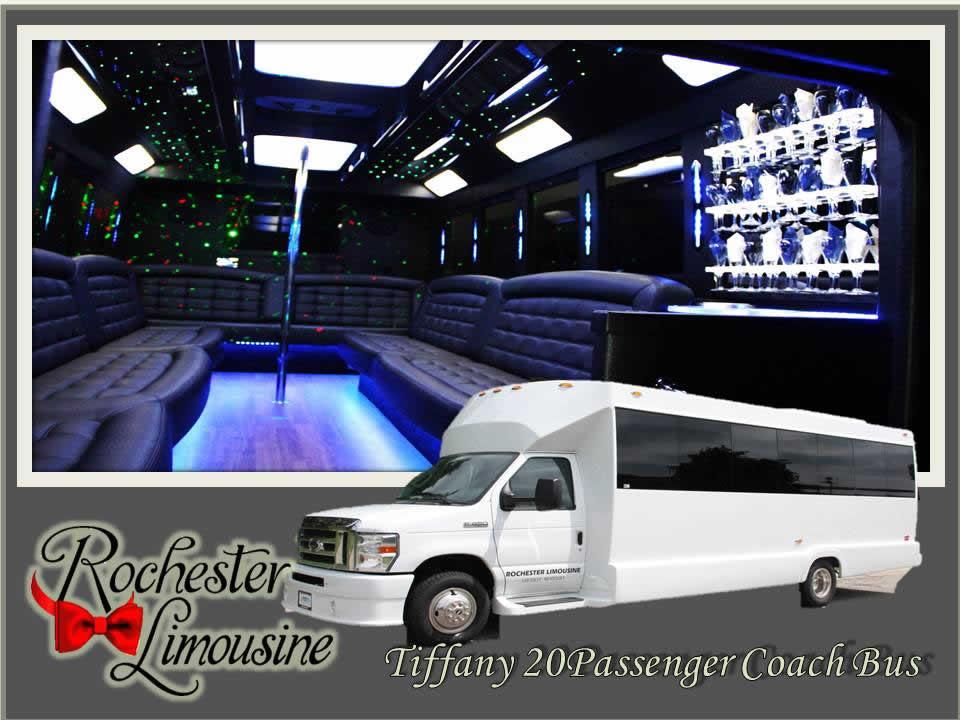 Metro Detroit Limo Bus 20 Passenger