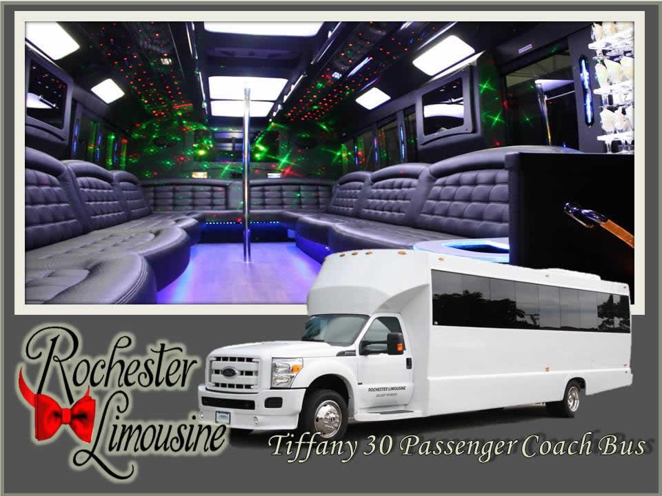 Metro Detroit Limo Bus 30 Passenger