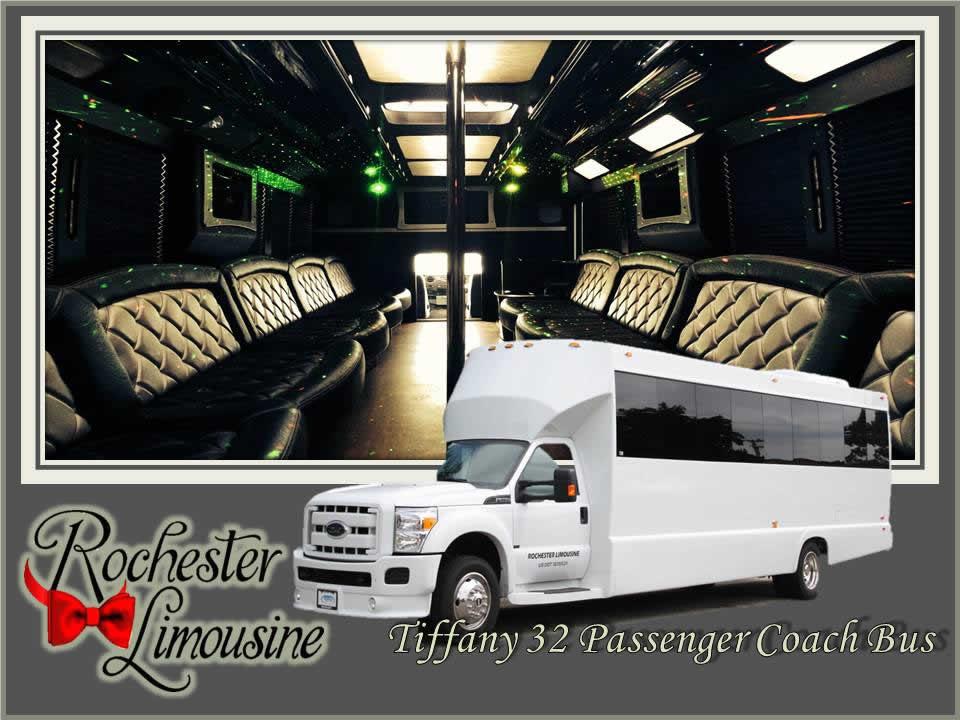 Metro Detroit Limo Bus 32 Passenger