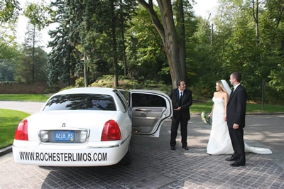 Clinton Twp Limo Service for Your Wedding