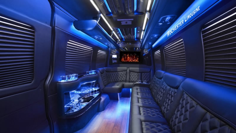 Shelby Township Party Bus for Your Bachelor Party